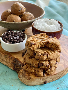 Back for More Bites-Take N' Bake Cookies-6 pack-Vegan and Gluten-Free