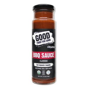 Good Food-Organic and vegan BBQ Sauce-Classic