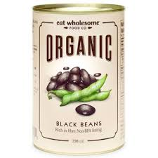 Eat Wholesome-Organic Black Beans-398ml