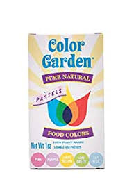 Color Garden-Planted Based and Gluten Free Food Colouring