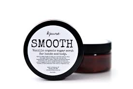 K'Pure-SMOOTH Sugar Scrub-16oz-Vanilla
