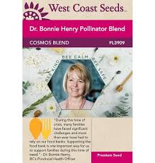 Bonnie Henry Cosmos Seeds from West Coast Seeds