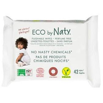 Eco by Naty-Unscented Vegan Baby Wipes