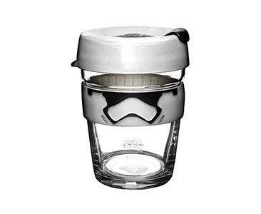 KeepCup-Storm Trooper glass reusable cup-12oz