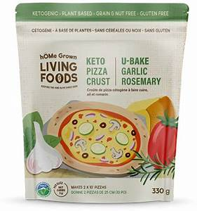 Home Grown Living Foods-Keto Pizza Crust Mix-Garlic Rosemary