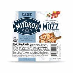 Miyoko's Kitchen-Vegan mozzarella