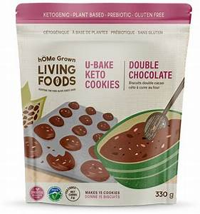 Home Grown Living Foods-Keto Cookie Double Chocolate Mix