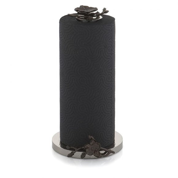 Black Orchid Paper Towel Holder - House of Moseley