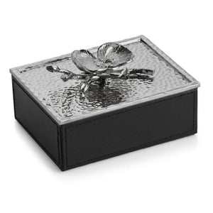 WHITE ORCHID MINI JEWELRY BOX - House of Moseley