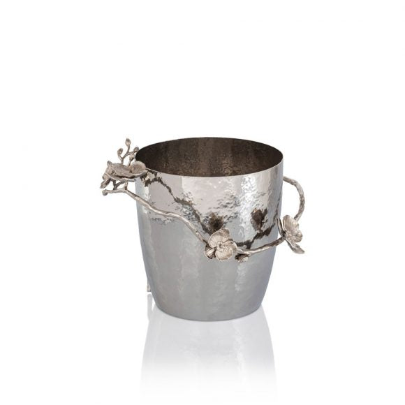 White Orchid Champagne Bucket - House of Moseley