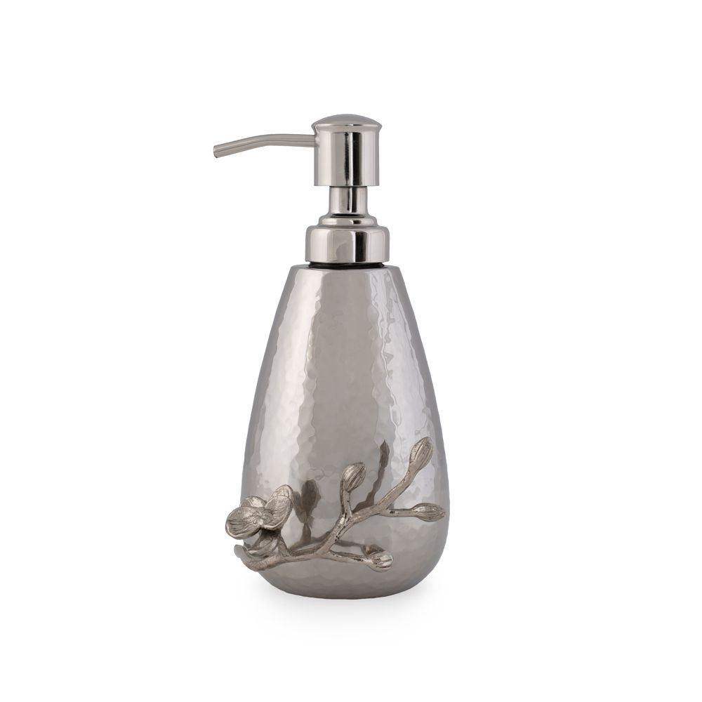 White Orchid Soap Dispenser - House of Moseley