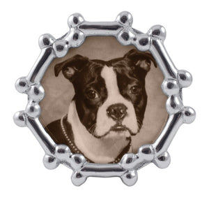 Dog Bone Round Frame - House of Moseley