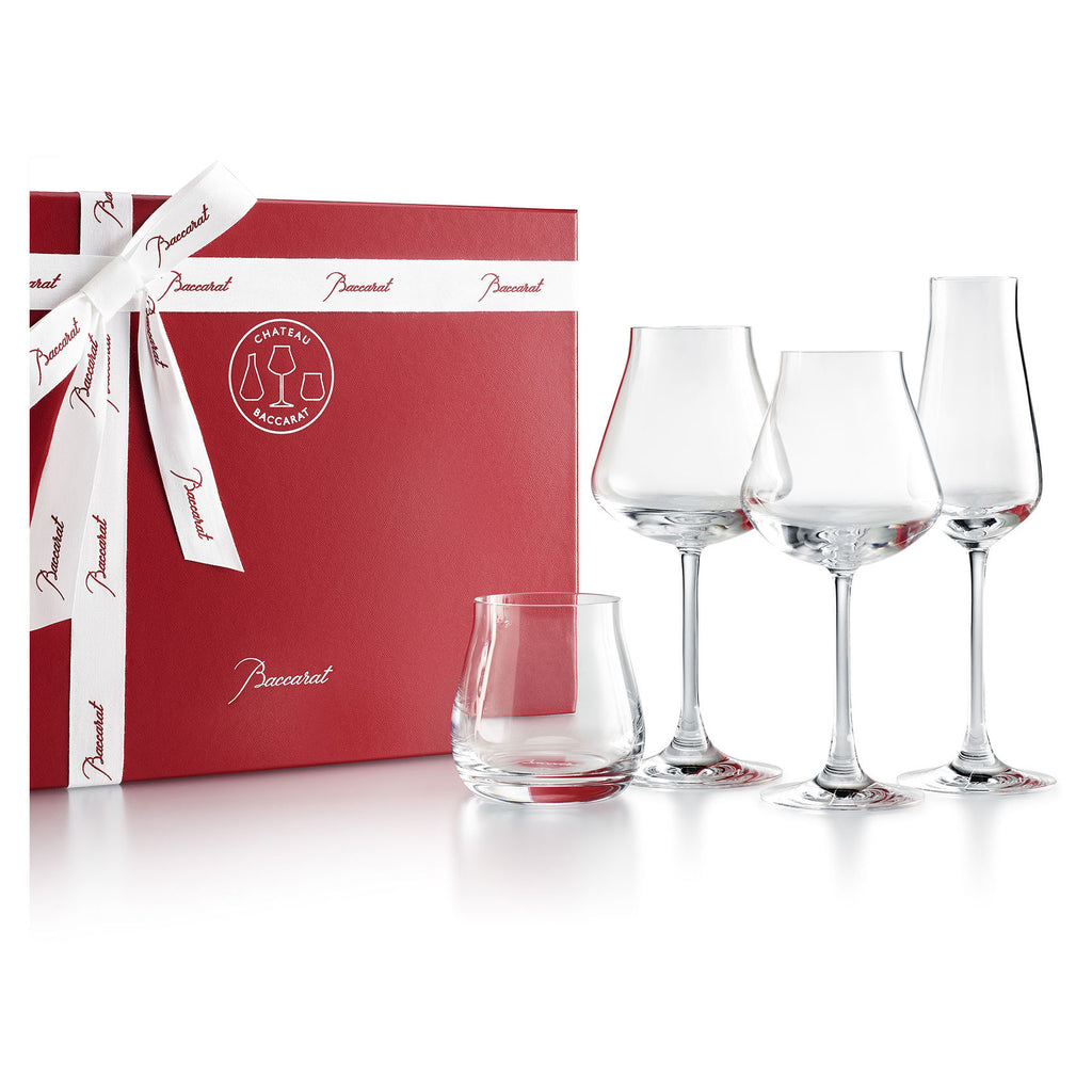 CHÂTEAU Baccarat Degustation Set - House of Moseley