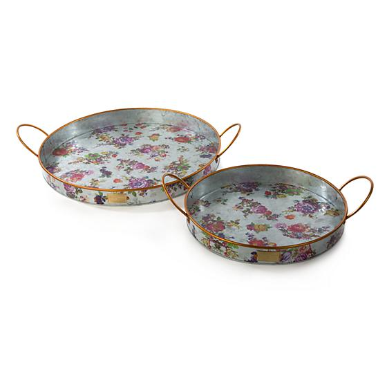 Flower Market Outdoor Trays - Set of 2 - House of Moseley