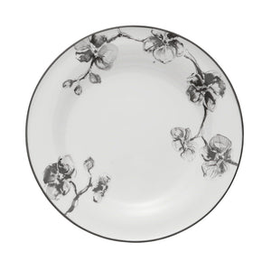 Black Orchid Dinner Plate - House of Moseley