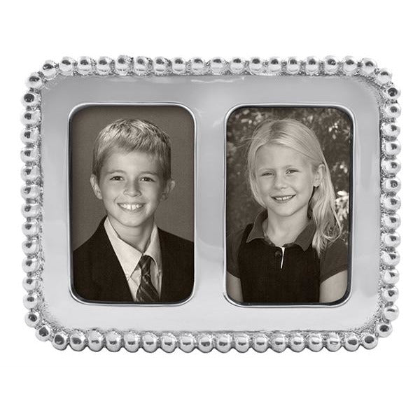 Beaded 2 x 3 Double Frame - House of Moseley