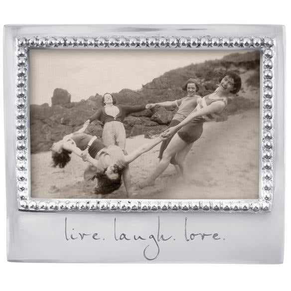 Live. Laugh. Love. Beaded 4 X 6 - House of Moseley