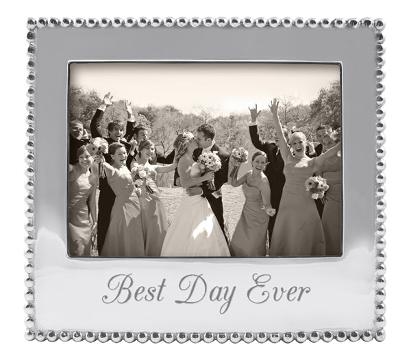 Best Day Ever Beaded 5x7 Frame - House of Moseley