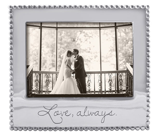 Love, Always Beaded 5 x 7 Frame - House of Moseley