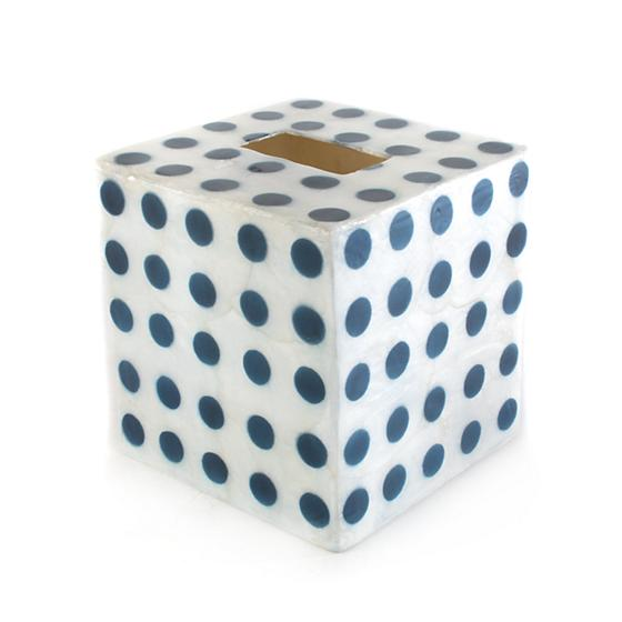 Royal Dot Boutique Tissue Box Cover - House of Moseley