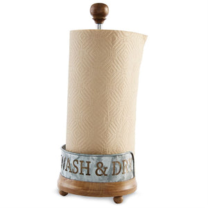 Wash & Dry Paper Towel Holder - House of Moseley