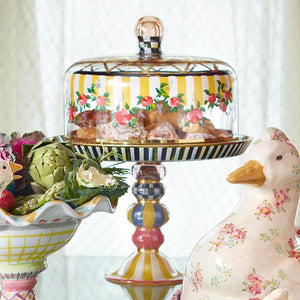 Striped Awning Cake Stand - House of Moseley