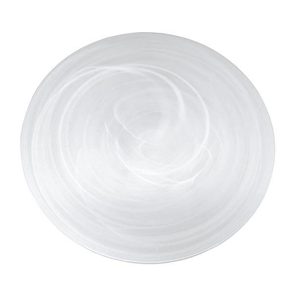 White Alabaster Platter - House of Moseley