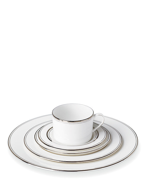 Library Lane Platinum 5-Piece Place Setting - House of Moseley