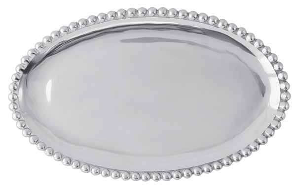 Pearled Oval Platter - House of Moseley
