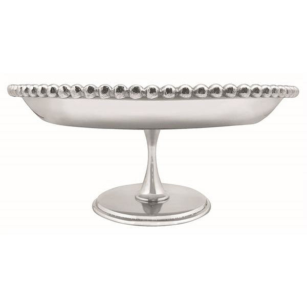 Pearled Footed Cake Stand