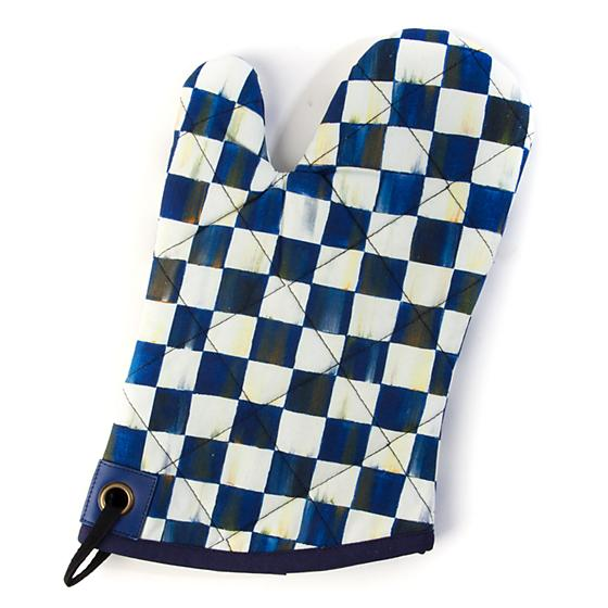 Royal Check Bistro Oven Mitt - House of Moseley