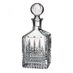 Lismore Diamond Square Decanter - House of Moseley