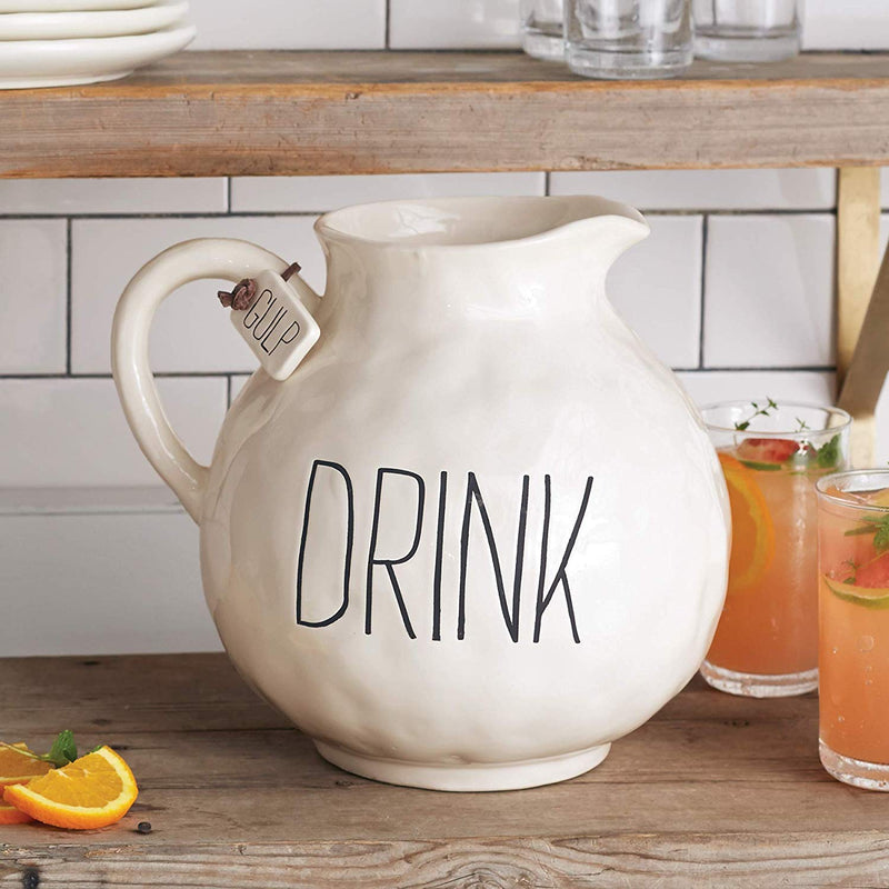 Drink Ceramic Pitcher - House of Moseley
