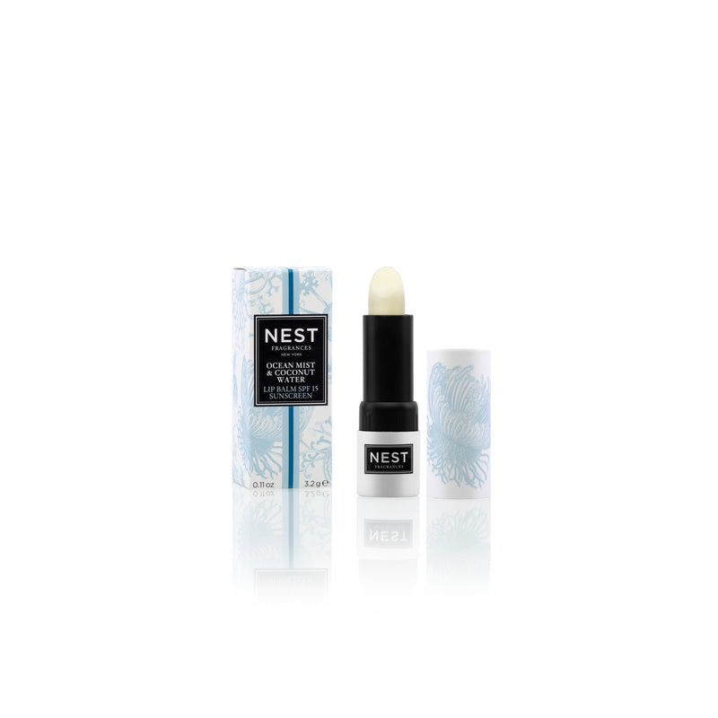 Ocean Mist & Coconut Water Lip Balm SPF 15 - House of Moseley