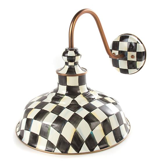 "Courtly Check Barn Sconce - 12"" - House of Moseley"
