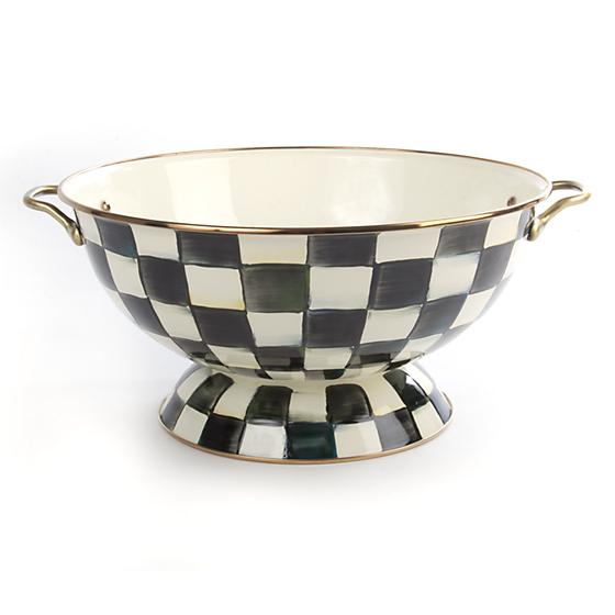 Courtly Check Enamel Everything Bowl - House of Moseley
