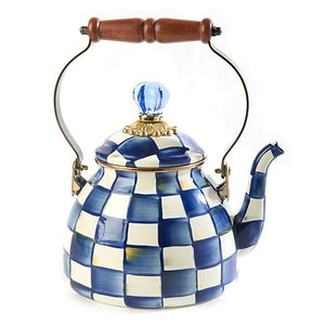 Royal Check Tea Kettle - 2 Quart - House of Moseley