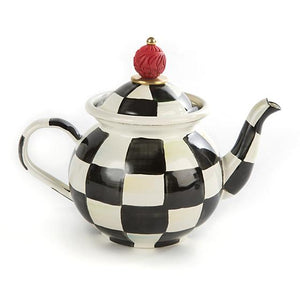 Courtly Check Tea for Me Pot - House of Moseley