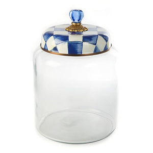 Royal Check Storage Canister - Bigger - House of Moseley