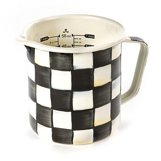 Courtly Check Enamel 7 Cup Measuring Cup - House of Moseley