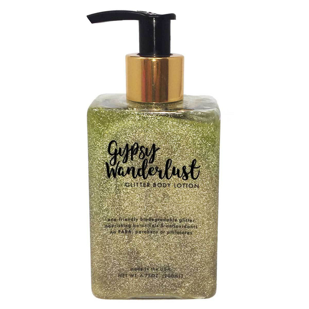 Gypsy Wanderlust Glitter Lotion - House of Moseley