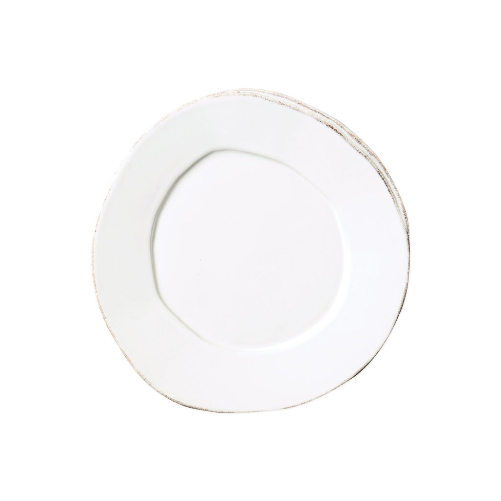 Lastra Salad Plate, White - House of Moseley