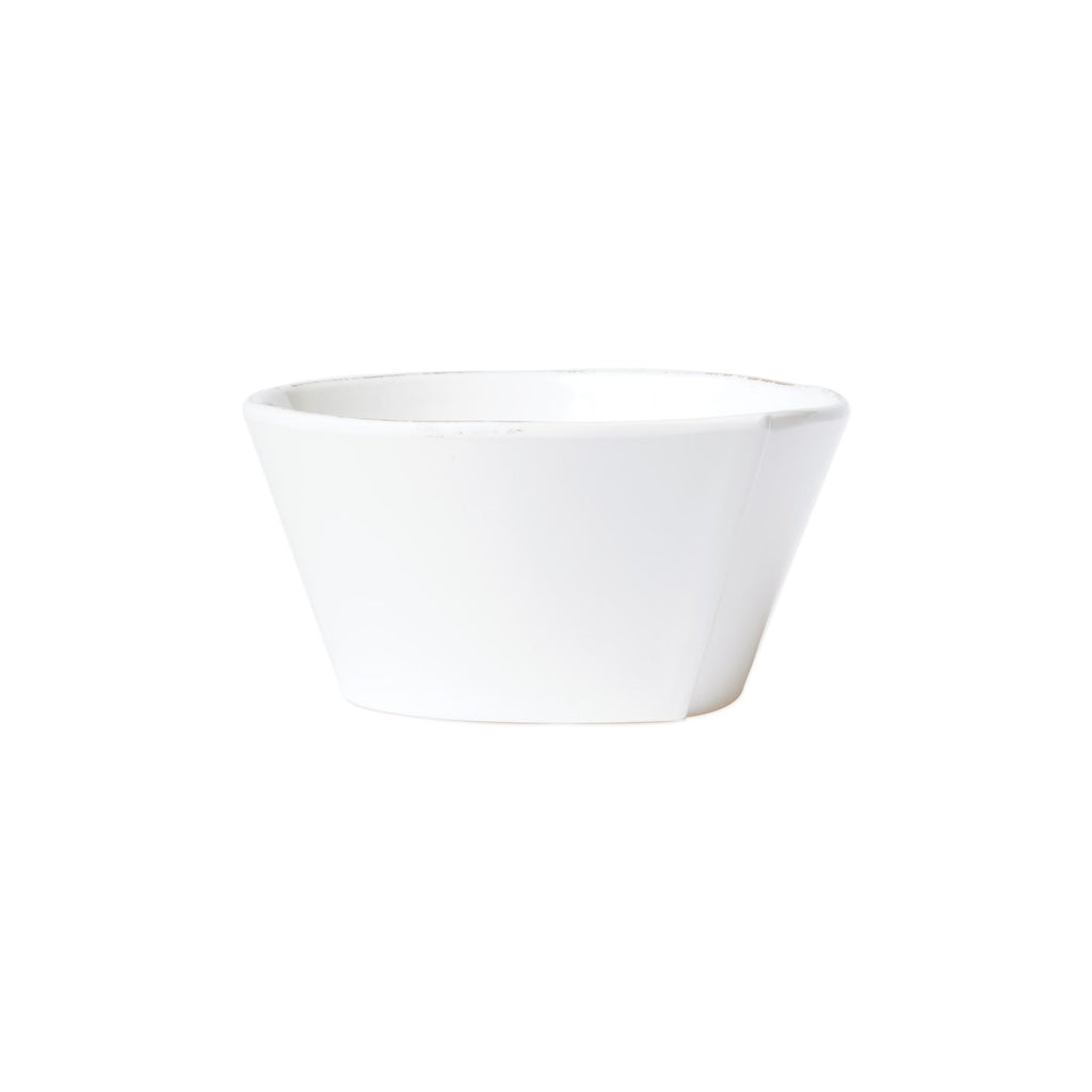 Melamine Lastra White Stacking Cereal Bowl - House of Moseley