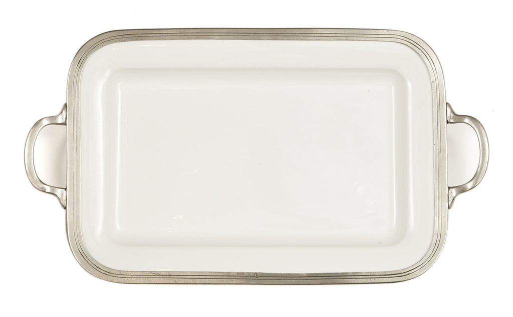Tuscan Rectangular Tray with Handles - House of Moseley