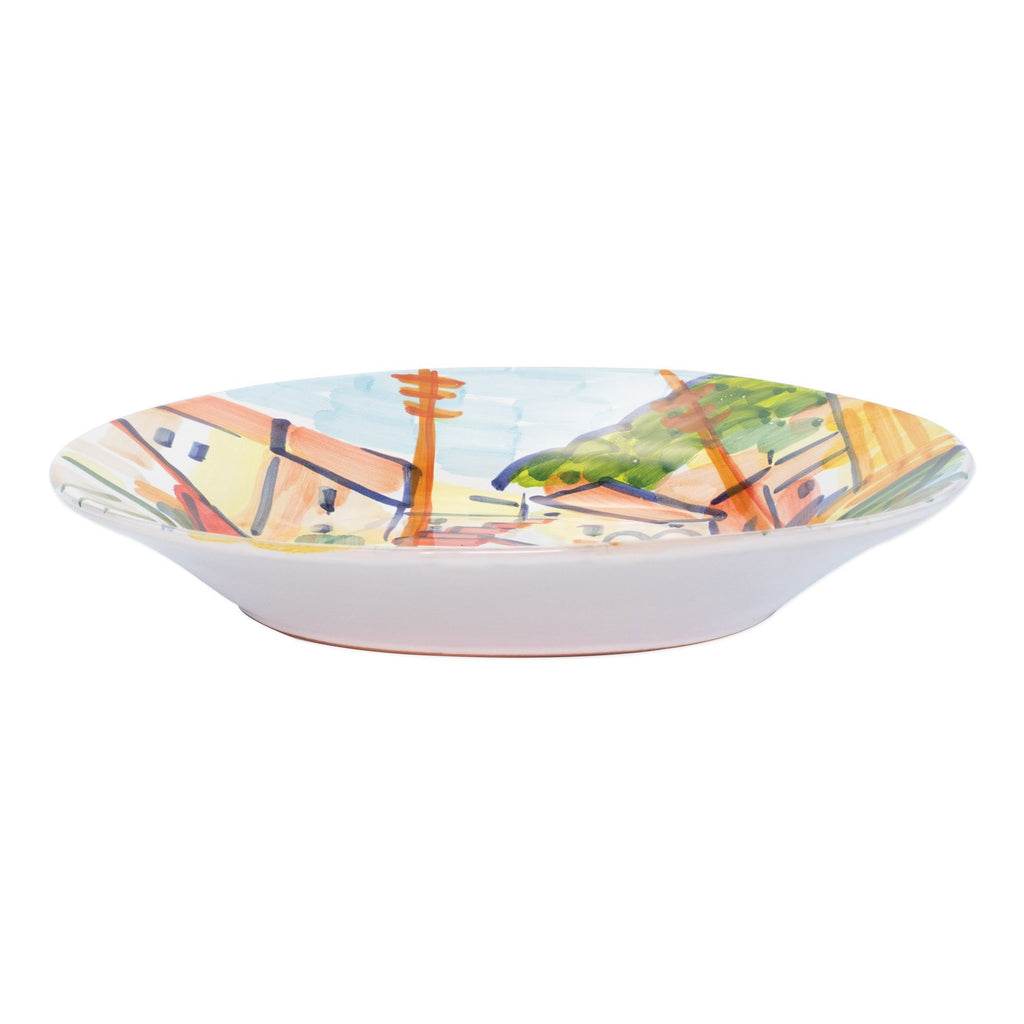 Portofino Medium Shallow Serving Bowl - House of Moseley