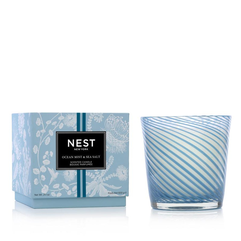 Ocean Mist & Sea Salt Specialty 3-Wick Candle - House of Moseley