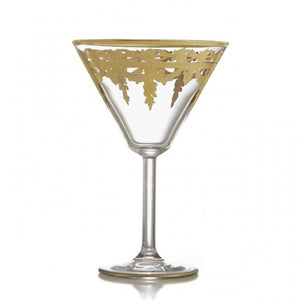 Vetro Gold Martini Glass - House of Moseley