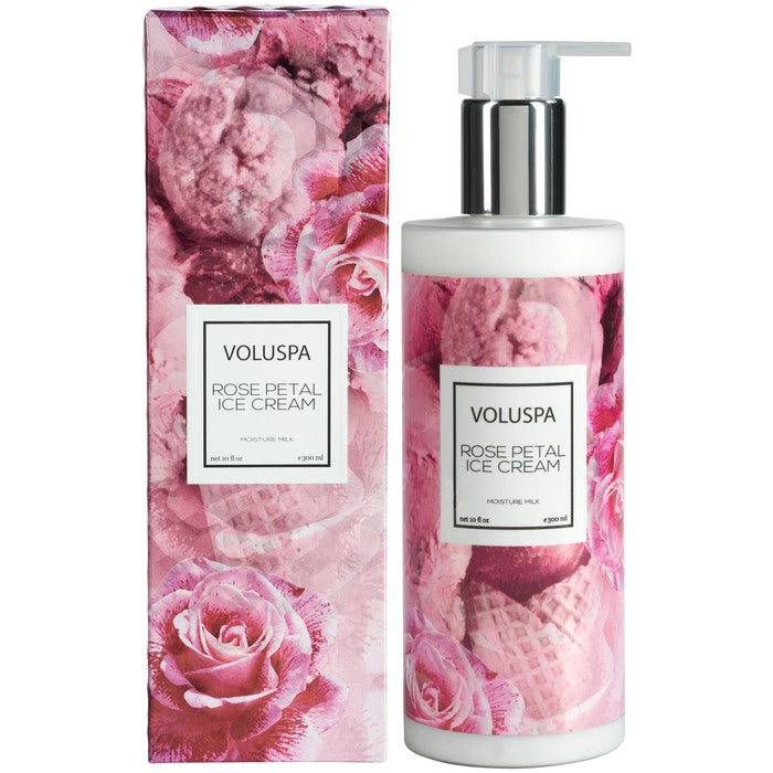 Roses Collection Moisture Milk Lotion, Rose Petal Ice Cream