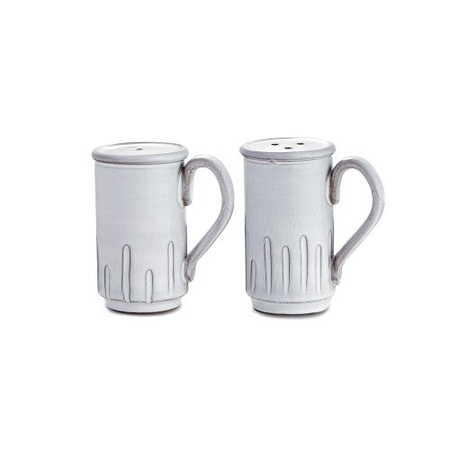 Bella Bianca Tall Salt and Pepper Shakers - House of Moseley
