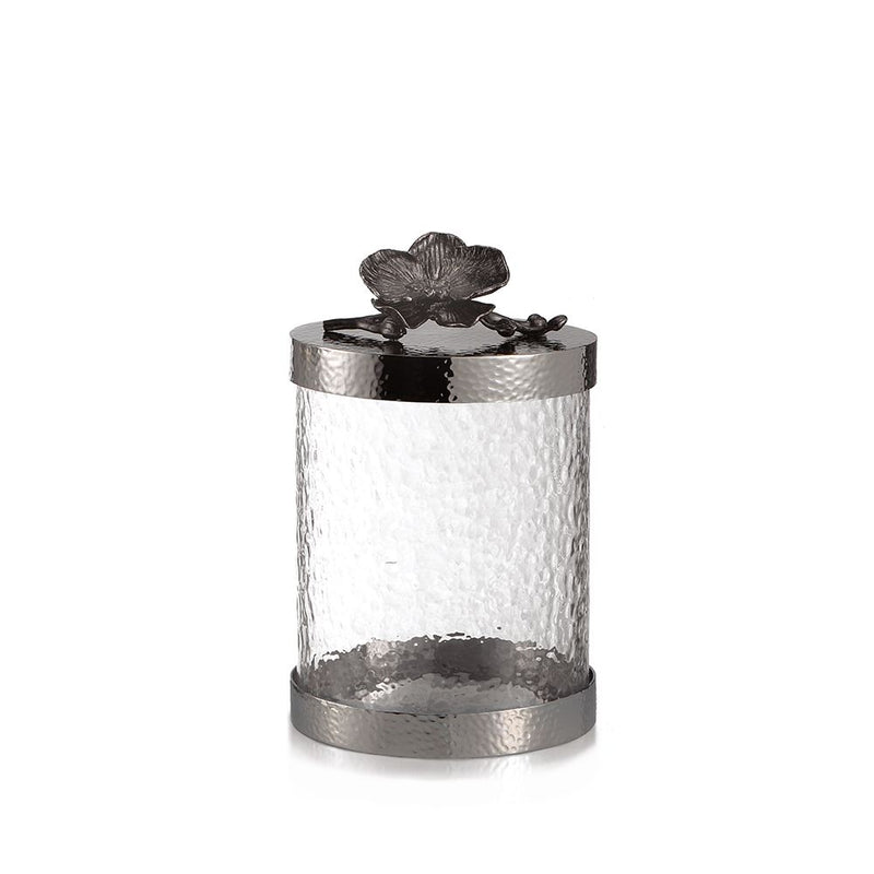 Black Orchid Canister, Small - House of Moseley